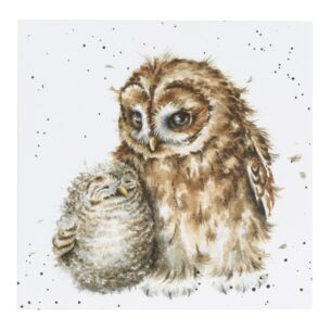 'Owl-Ways By Your Side' Owl Card