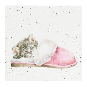 'The Snuggle Is Real' Cat Card