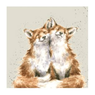 'Contentment' Foxes Set of 20 Napkins