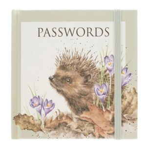 'New Beginning' Hedgehog Password Book
