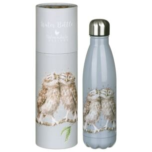 'Birds of a Feather' Owl 500ml Water Bottle