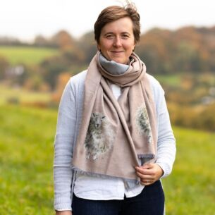'The Woolly Jumper' Sheep Winter Scarf