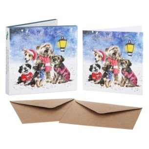'Oh Holy Night' Set of 8 Luxury Gold Foiled Christmas Cards