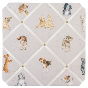 'A Dog's Life' Fabric Notice Board
