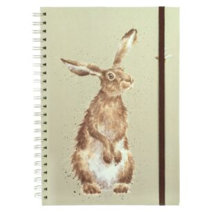 'The Hare and The Bee' A4 Spiral Bound Notebook