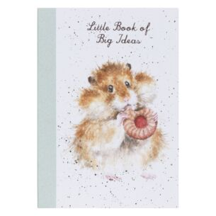 'Diet Starts Tomorrow' Hamster A6 Notebook
