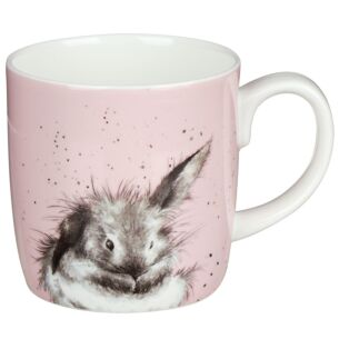 'Bathtime' Large Rabbit Mug From Royal Worcester