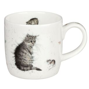 Cat & Mouse Mug from Royal Worcester
