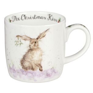 Christmas Kiss Mug From Royal Worcester