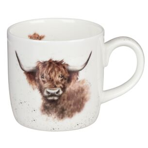 Highland Cow Mug 'Highland Coo' From Royal Worcester
