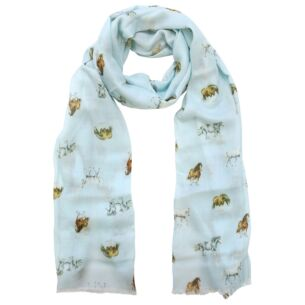 'Feather and Forelocks' Horse Scarf