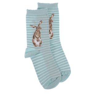 'Hare and the Bee' Hare Socks