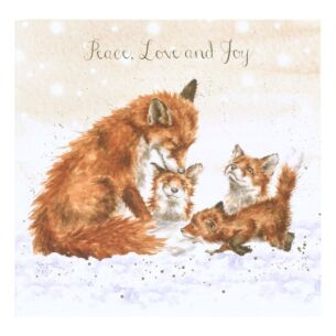 'Peace, Love and Joy' Christmas Card