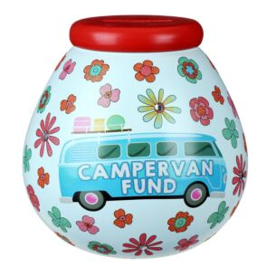 Retro Campervan Fund Money Pot