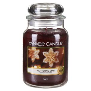 Glittering Star Large Jar Candle
