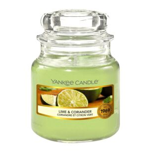 Lime & Coriander Small Jar Candle