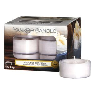 Coconut Rice Cream Pack of 12 Tealights