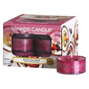 Exotic Acai Bowl Pack of 12 Tealights