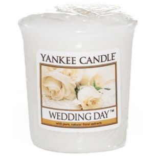 Wedding Day Sampler Votive Candle