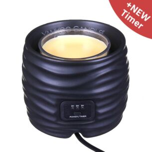 Noah Black Scenterpiece Easy MeltCup Warmer - With Timer
