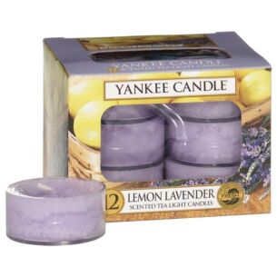 Lemon Lavender Pack of 12 Tealights