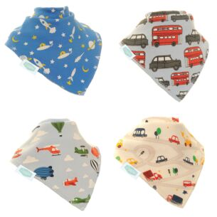 Travel Unboxed Bibs 4 Pack