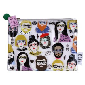 Blah Makeup Bag