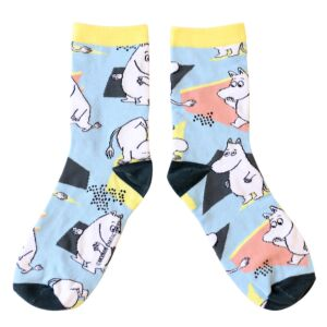 Moomin Abstract Socks