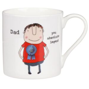 Rosie Made A Thing Dad You Absolute Legend Mug