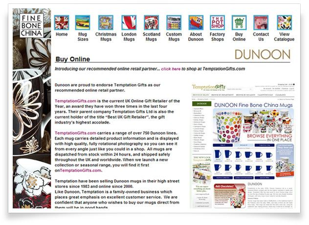 Dunoon's Recommended Online Retailer