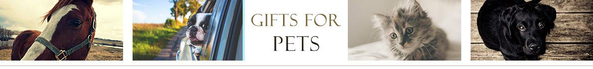 Gifts for Pets and Animal lovers